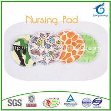 Happy flute MINKY Bamboo breast pad , Breathable nursing pad ,Reusable breast feeding pads