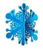 laser cut snow-flower paper ornament