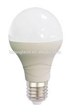 USA Energy start Warm white led e26 bulb , Plasitc body e26 6w led bulbs