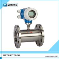 Digital argon gas turbine flow meter