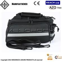 Motorcycle ATV Dirt Bike Rear Tank Tour Luggage Saddle Waterproof Bags Black New