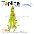 Luminosa artificial macio plástico isca de pesca de polvo made in China