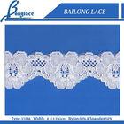 Elastic lace trim
