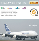 Competitive reliable air freight cargo rate to usa