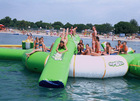Hot sale inflatable island and float