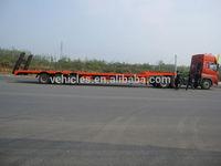 lowbed trailer for heavy equipment transportation