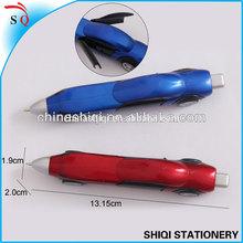 Special car shaped move wheel ball pen