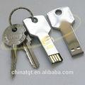 Venta caliente 512mb-16gb uso en el hogar de forma clave de metal usb flash drive memory stick