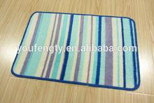 Machine washable rug/bath rug/modern rug