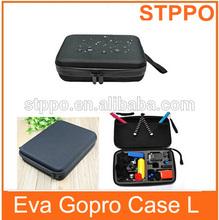 2014 Large Black ForGopro HD Heros Camera Bag for Gopor Heros 1 2 3 3+ Camera
