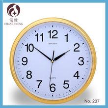 quartz watch round plastic wall clock big size wholesale large wall clock
