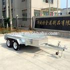 double axle trailer