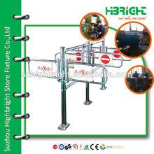 security turnstile gate Manual swing barrier gate for supermarket