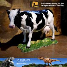 MY Dino-Garden cow statue,resin garden cow statue,custom resin garden cow statue