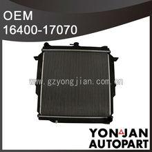 CHINA for TOYOTA RADIATORS 16400-17070