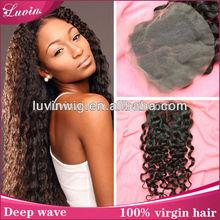 2014 china alibaba china wholesale top closure hair piece cheap lace front closure