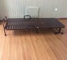 Folding Batten Guest Room Bed Hotel Extra Wood Bed