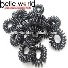 black mini telephone hair band