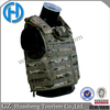 Tactical body carrier plate armor vest