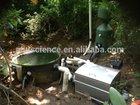 High efficiency aquaculture drum filter