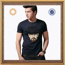 2014 fashion cotton jersey fabric t shirts summer fashion casual shirt