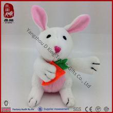China wholesale cheap farm animal toys stuffed animal toy plush rabbit