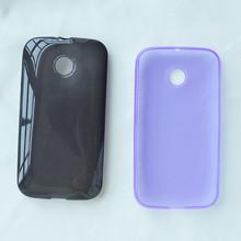 TPU cellphone case cover For Moto E, Soft accessory for Motorola E