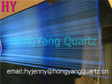 Clear Lower OH Ppm Quartz Glass Tube