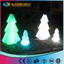 Christmas decoration / multicolor led glowing tree / garden decorative light