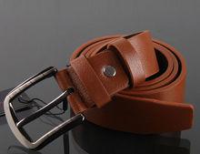 Black genuine leather belt 100% genuine mens leather belts