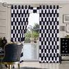 China luxury european style window curtains flocked organza curtain