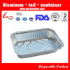 850ml Rectangular Household Food Packing Catering Aluminum Foil Takeaway Container