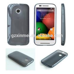 For Motorola Moto E TPU mobile phone case, for Moto E phone shell