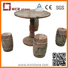 garden outdoor decoration stone granite table