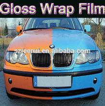 Professional Grade Car Wrap Bubbles Free glossy sticker,Auto Carbon Fiber Car Wrapping Vinyl Film