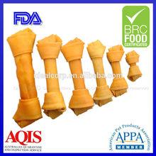 Pet snacks natural rawhide dog chews bones