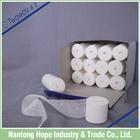 bandages box with twelve cotton gauze bandage in a packet