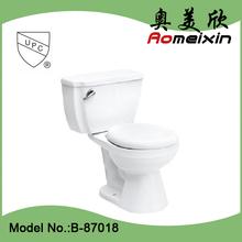 HOT Sale item ceramic siphonic 2 piece bathroom toilet. wc toilet bowl . water closet in US market