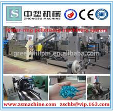 PP/PE film recycling and pelletizing line/plastic pelletizing line