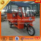 Motorized passenger three wheel motorcycle tricycle