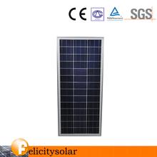 High power factory price 80 watt Solar panel of China price