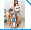 Hard shell cabin size wheeled trolley luggage