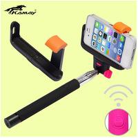 Smartphone Holder extendable selfie handheld stick monopod pod for iphone samsung camera for photo video