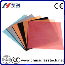 4-19mm thermal insulation High light transmittance coating glass