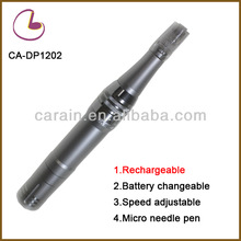 2014 Battery head changeable and rechargeable auto mts micro needle therapy system