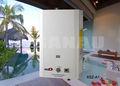 2014 mejor vendedor instantánea de gas del calentador de agua/géiser de gas con encendido electrónico para la venta!