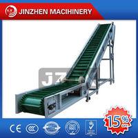Waste sorting belt conveyor