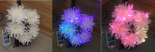 fiber optic pendant light, fiber optic christmas lights