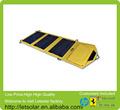 2014 75w nueva célula fotovoltaica panel solar para el iphone y el ipad directamente bajo la luz del sol