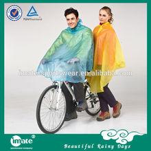International quality bike poncho for bad weather